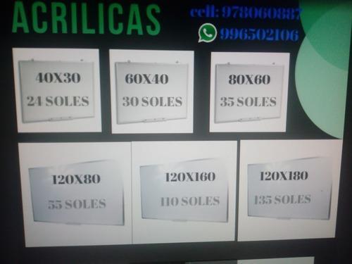 Pizarras Acrilicas, Corcho Y Tiza 996502106 O 969518348
