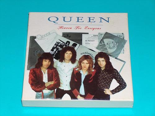 Queen - heaven everyone boxset 2 cd's + libro beatles p78