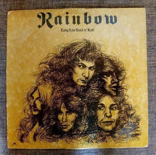Rainbow - long 1978 heavy hard rock metal maiden dio g123