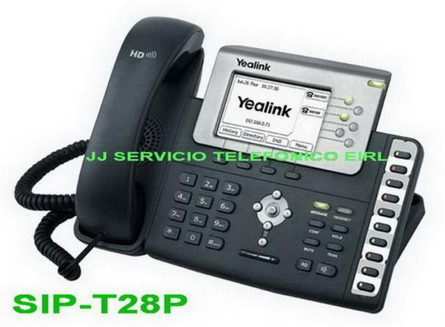 Venta y servicio: teléfono ip yealink (distribuidor... en
