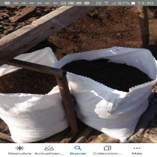 Abonos organicos, compost, tierra preparada y humus en lima