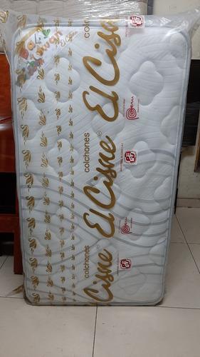 Colchón de cuna resorte marca cisne baby swan