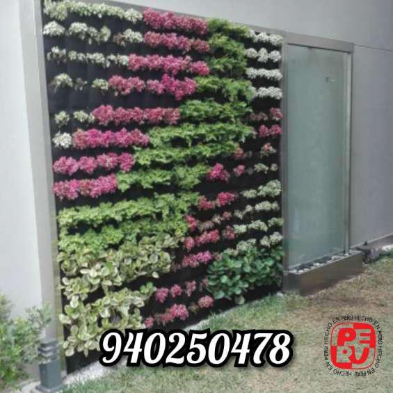Jardines verticales en lima