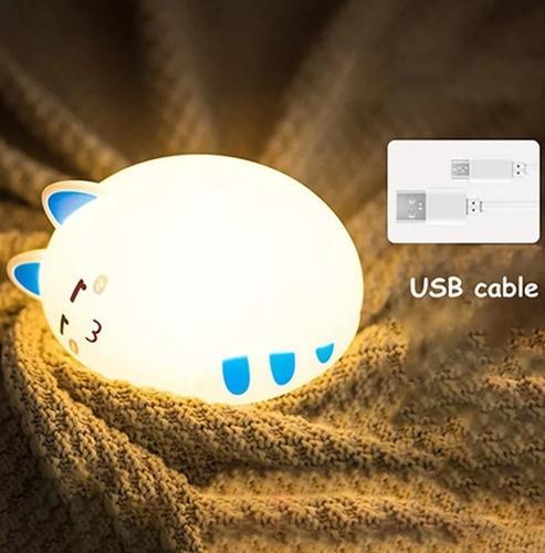 Lámpara gato gatito recargable
