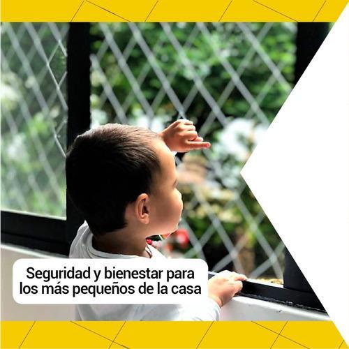 Mallas protectoras de seguridad en ventanas y balcones