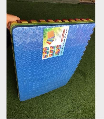 Pisos de goma eva 20 mm 4 piezas microporoso 1,20 mt x 60