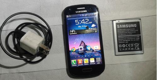 Samsung galaxy s3 mini, azul marino