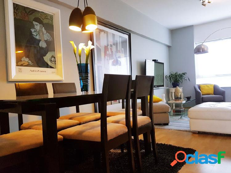 Penthouse en alquiler en lince bellisimo vista a parque y ciudad terraza 3 dormitorios