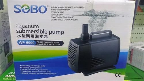 Bomba d agua sobo wp-6000 duplex 4m/4500l/h hidroponia pilet
