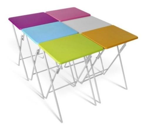 Dksa mesa plegable para casa campo playa - medidas: 48x38x66