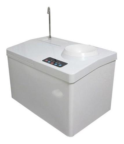Maquina de hielo dispensa agua fria y agua caliente