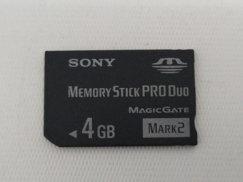 Memoria sony stick pro duo 4gb