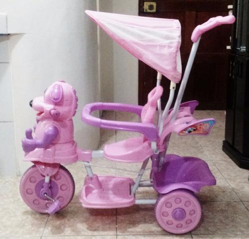 Triciclo musical para niñas en lima