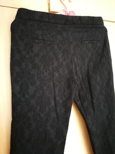 Zara pantalón de vestir hym ropa mujer remate sieteshop