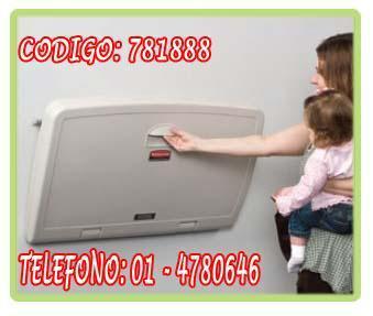 Cambiador para bebe marca rubbermaid 781888 en lima