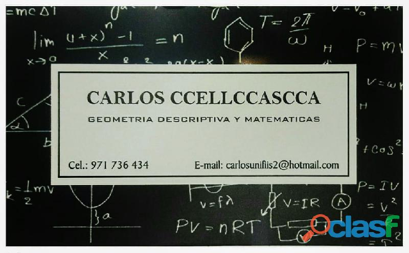 Geometria descriptiva online