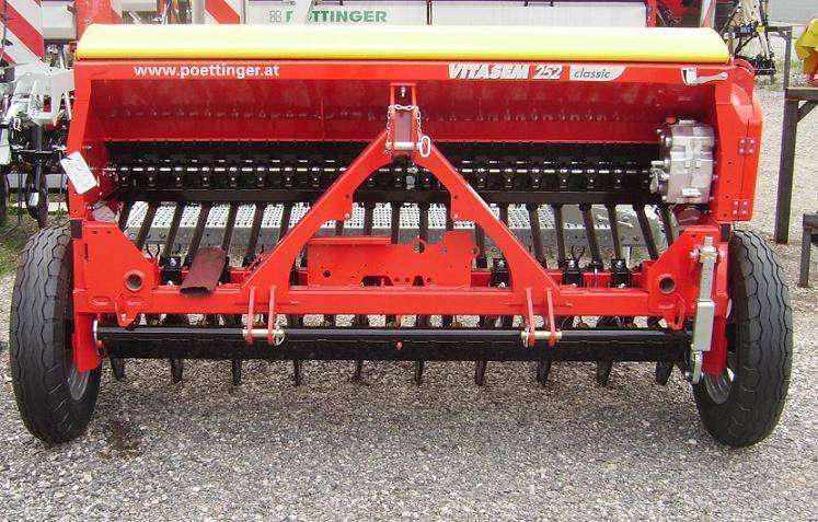 Maquinaria agricola- sembradora y segadora (alemanas)