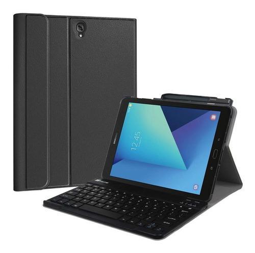 Case galaxy tab s3 t820 t825 con teclado bluetooth