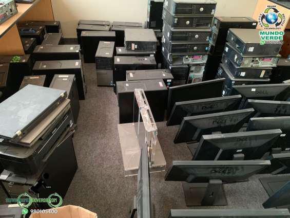 Compro computadoras usadas en lima