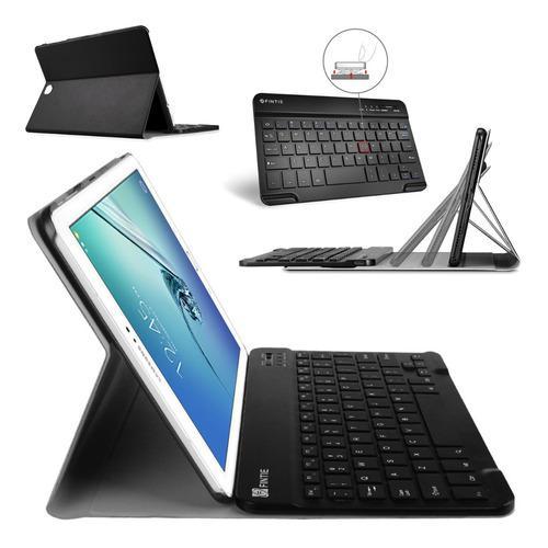 Funda con teclado bluetooth @ galaxy tab s2 9.7 t810 t815