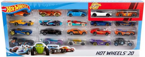 Hot wheels pack por 20 unidades