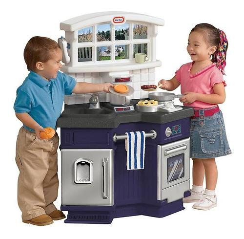 Little tikes cocina para niños side by side kitchen