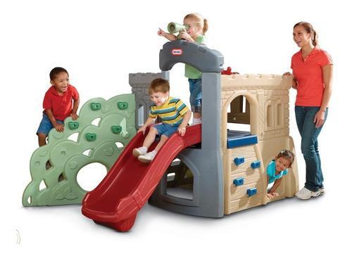 Little tikes rock climber slide escalador tobogan niños