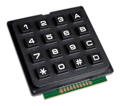 Keypad teclado matricial 4x4 tipo rígido