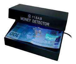 Maquina detectora de billetes falsos mod 118 electrica