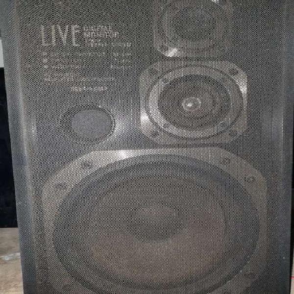 Parlantes sharp cd-l700-bk