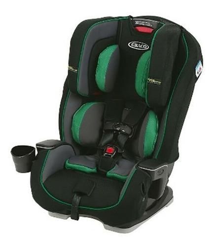 Silla auto bebé graco milestone jackson fashion verde