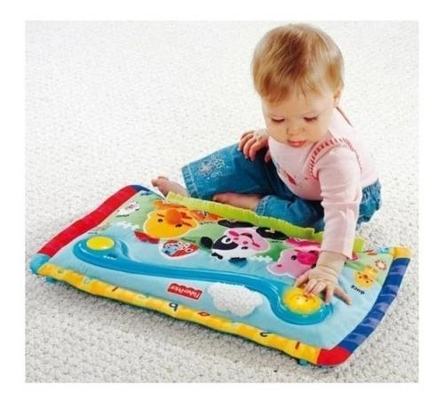 Fisher price alfombra piano pataditas musicales cuna bebes