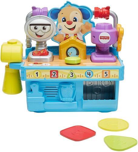 Fisher price perrito caja de herramientas actividades bebes
