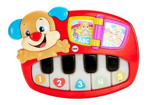 Fisher price piano perrito de aprendizaje luces bebes 6-36m