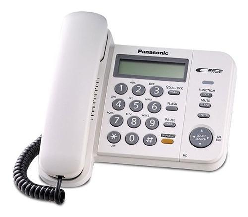 Teléfono panasonic kx-ts580 - c/id - altavoz -¡nuevo!