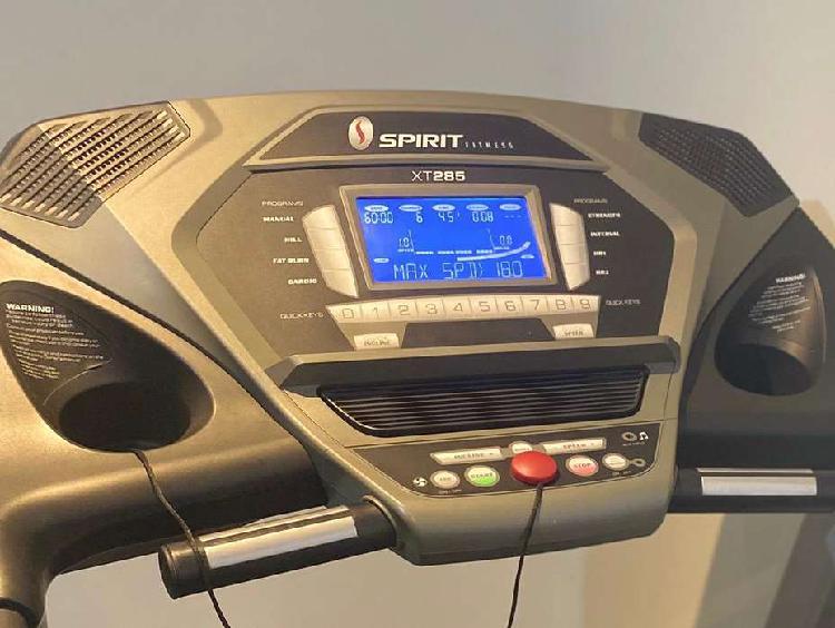 Trotadora spirit fitness gimnasio gym, acepto tarjeta