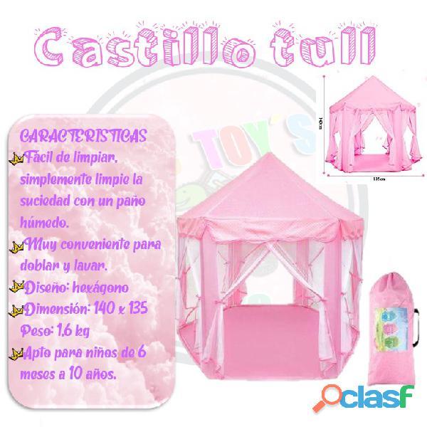 Castillos tull para niñas y niños 1