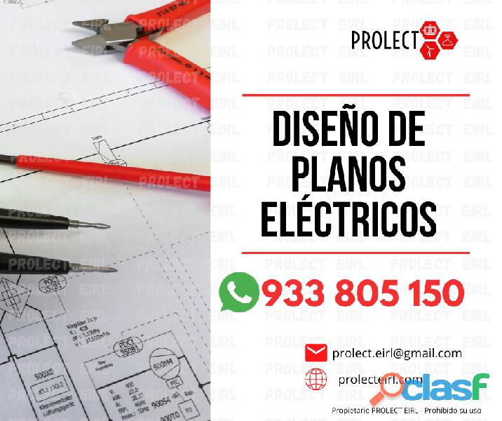 DISEÑO Y FIRMA DE PLANOS ELÉCTRICOS