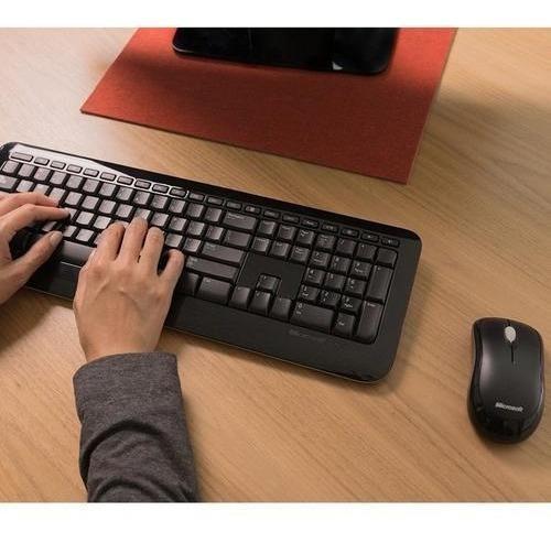 Combo wireless desktop 850 microsoft - envios ya