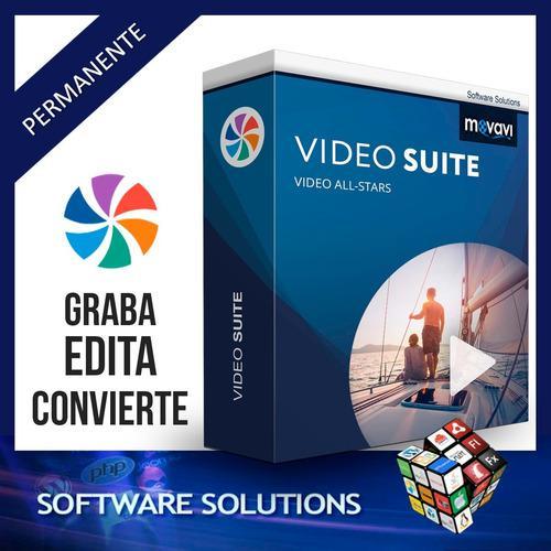 Movavi video suite 2020 - potente suite de video todo en uno