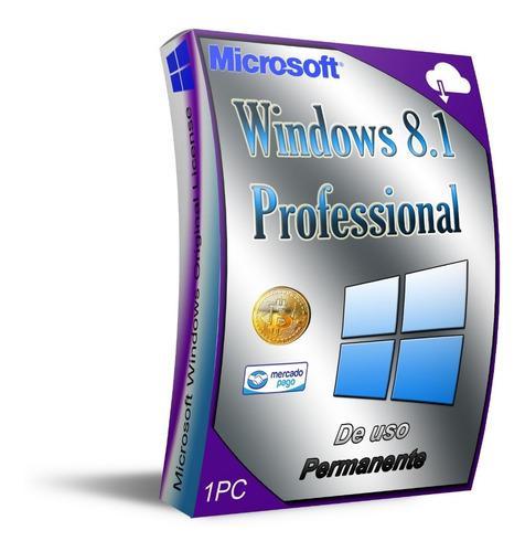 Windows 8 1 professíonal para 1 pc