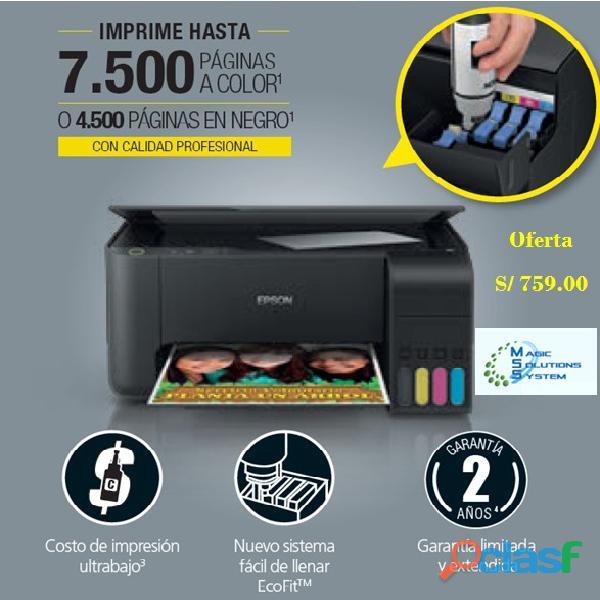 Impresora epson l3110 sistema continuo