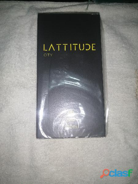 Perfume para hombre lattitud city nuevo y original