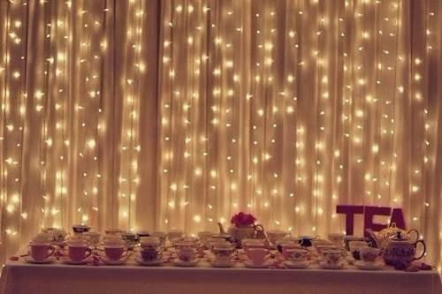 Luces led cortina 3m. para eventos decorativo