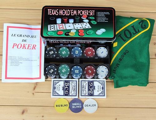 Set completo de juego de poker