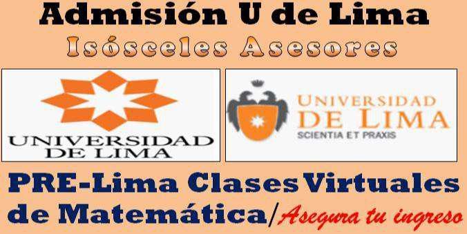 Clases (por plataforma interactiva virtual)de matemática,
