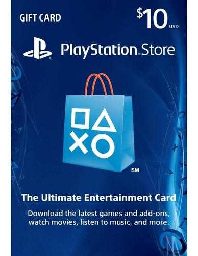 Playstation network card $10 usa (código digital)