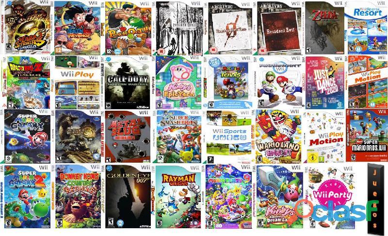 Juegos digitales para wii