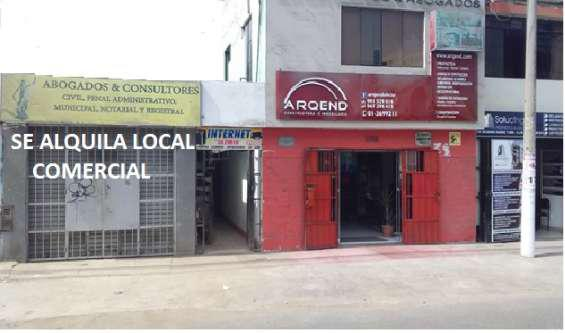 Alquiler local comercial en lima
