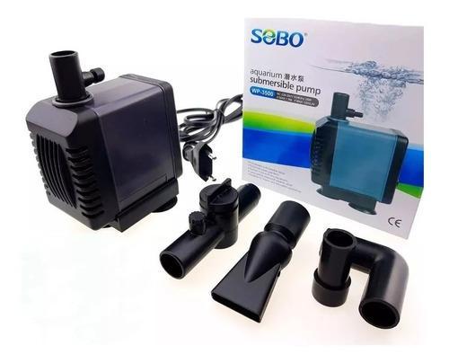 Bomba D Agua Sobo Wp-3500 1.5mt /1200l/hora -acuarios-pileta